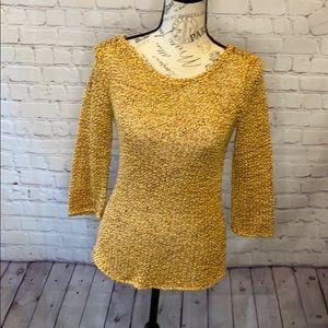 Calypso St. Barth multicolor knit pattern sweater
